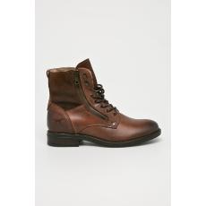 Mustang - Magasszárú cipő - barna - 1434936-barna