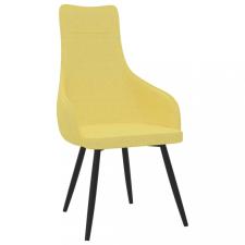 Mustársárga szövet kanapészék bútor