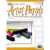 Művészpapír, vázlattömb - Artist Pastels, 180gr, 5 féle meleg színárnyalatban
