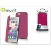 Muvit Apple iPhone 6 Plus/6S Plus flipes tok - Muvit Slim Folio - pink