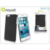 Muvit Apple iPhone 6 Plus/6S Plus hátlap - Muvit Soft Back - black