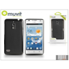 Muvit Huawei Ascend G526 hátlap - Muvit miniGel - black