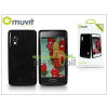 Muvit LG E460 Optimus L5 II hátlap - Muvit miniGel Glazy - black