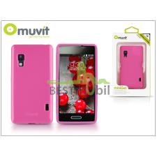 Muvit LG E460 Optimus L5 II hátlap - Muvit miniGel - pink tablet tok