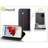 Muvit LG L50 D213N flipes tok kártyatartóval - Muvit Wallet Folio - black