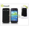 Muvit Samsung i8260 Galaxy Core hátlap - Muvit miniGel Glazy - black