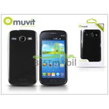 Muvit Samsung i8260 Galaxy Core hátlap - Muvit miniGel Glazy - black tablet tok