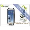 Muvit Samsung i9300 Galaxy S III védőkeret képernyővédő fóliával - Muvit i-Belt Bumper - black