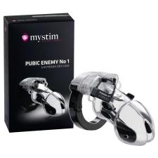 mystim Pubic Enemy No 1 - elektro péniszketrec izgatók, stimulálók