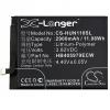 N/A Huawei Nova Smart 2900 mAh LI-Polymer utángyártott akkumulátor (HB405979ECW kompatibilis)