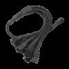 Nanoxia 3-Pin - 9x3-Pin adapterkábel 60 cm fekete