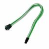 Nanoxia 4-Pin P4 hosszabító 30 cm - Zöld/Fehér