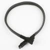 Nanoxia SATA-III-Kábel 30 cm - Carbon