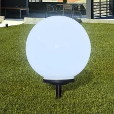 Napelemes Gömb Kültéri lámpa LED égő 40 cm 1 db Cövekkel kültéri világítás