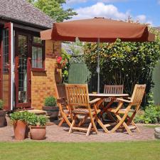 Napernyő 250 cm, terrakotta kerti bútor