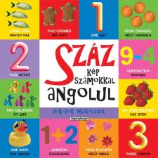 Napraforgó 2005 - SZÁZ KÉP SZÁMOKKAL ANGOLUL - SOK-SOK MATRICÁVAL gyermek- és ifjúsági könyv