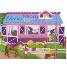 Napraforgó Kiadó PRINCESS TOP - HORSES: A FUNNY DAY (BLUE) ajándékkönyv