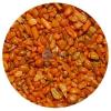 Narancssárga akvárium aljzatkavics (1-2 mm) 0.75 kg