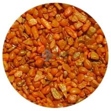 Narancssárga akvárium aljzatkavics (1-2 mm) 0.75 kg akvárium dekoráció