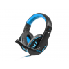 Natec Fury Gaming Headset NIGHTHAWK with microphone; 2 x Mini Jack 3;5mm