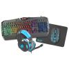 Natec Fury Thunderstreak Gaming Combo 4in1 szett Orosz