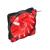 Natec Genesis HYDRION 120mm LED piros ventilátor