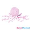 Nattou plüss babjáték - 23cm Octopus rózsaszín