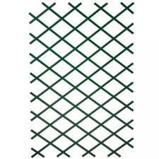 NATURE 2 db zöld PVC kerti növényfuttató rács 100 x 200 cm kerti dekoráció