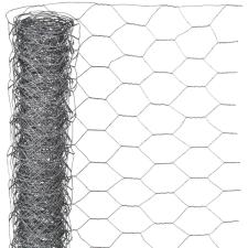 NATURE hatszögletű horganyzott acél drótháló 0,5 x 5 m 25 mm kerti dekoráció