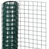 NATURE zöld négyszögletű műanyag bevonatú acél drótháló 1x5 m 13 mm