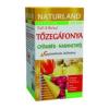 Naturland tőzegáfonya-gyömbér-narancshéj tea - 20 filter
