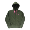 Navitas womens sherpa fleece hoody green m