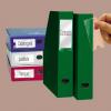 Nebuló Címketartó zseb, 25x102 mm, öntapadó, 3L - 12db/csomag