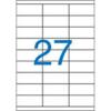 Nebuló Etikett, univerzális, 70x30 mm, VICTORIA, 2700 etikett/csomag