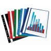 Nebuló Gyorsfűző, lefűzhető, PP, A4, VICTORIA, piros - 20db/csomag