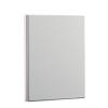 Nebuló Gyűrűs könyv, panorámás, 4 gyűrű, 15 mm, A4, PP/karton, PANTA PLAST, fehér
