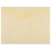 Nebuló Irattartó tasak, 240x186x0,18, A5, PP, patentos, DONAU, sárga