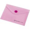 Nebuló Irattartó tasak, A6, PP, patentos, PANTA PLAST, pasztell rózsaszín