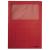 Nebuló Mappa, ablakos, karton, A4, LEITZ, piros