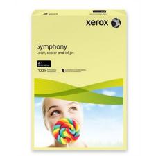"""Nebuló """"Másolópapír, színes, A3, 80 g, XEROX """"""""Symphony"""""""", világossárga (pasztell)"""" fénymásolópapír"""