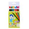 Nebulo Színes ceruza készlet, hatszögletű,  NEBULÓ, 12 különböző szín [12 db]