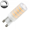 Nedes LED lámpa G9 (4W/320°) Rúd - természetes fehér, dimmelhető