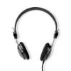 Nedis HPWD1104BK vezetékes fejhallgatók