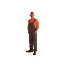 NEMMEGADOTT munkaruha kertésznadrág ROCK szürke-narancs (M)