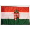 Nemzeti színű címeres zászló Rúd nélkül 100x200 cm
