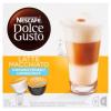 NescafÉ Nescafé Dolce Gusto Latte Macchiato Unsweetened őrölt pörkölt kávé és teljes tejpor 2 x 8 db 168 g
