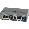 Netgear ProSafe Smart 8-Port Gigabit Switch Metal 1xPoE PD (GS108T v2)
