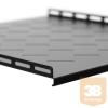 Netrack equipment shelf 19'', 1U/500mm,black FOR STANDING SERVER CABINETS 22-42U