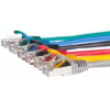 Netrack patch cable RJ45, snagless boot, Cat 5e FTP, 1m green