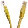 Netrack patch cable RJ45, snagless boot, Cat 6 UTP, 1m yellow